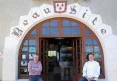 L'entrée du restaurant Beausite