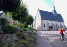 Cycliste, Moux-en-Morvan